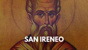San Ireneo padre de la iglesia catolica vida biografia foto