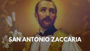 San Antonio María Zaccaria foto imagen sacerdote san pablo 5 de julio