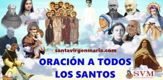 ORACIÓN A TODOS LOS SANTOS