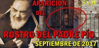 Aparición del Rostro del Padre Pío en una puerta