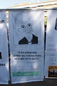 Mural Emily Greene Balch - Escola Sant Josep