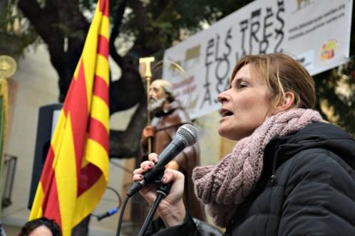 L'alcaldessa Lluïsa Moret va fer una crida a mantenir vius els Tres Tombs // Maria Rubio