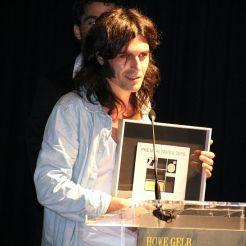 Xarim Aresté ha estat reconegut amb el Premi Altaveu 2015 // Elisenda Colell