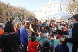 Imatges de la diada de Sant Jordi a Sant Boi // Ajuntament de Sant Boi