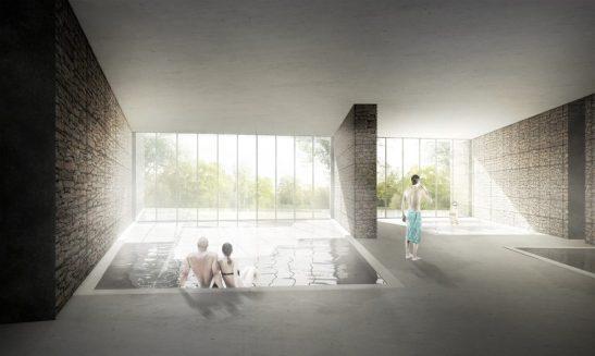 L'Spa i water walk projectat per Judith Planas // UIC
