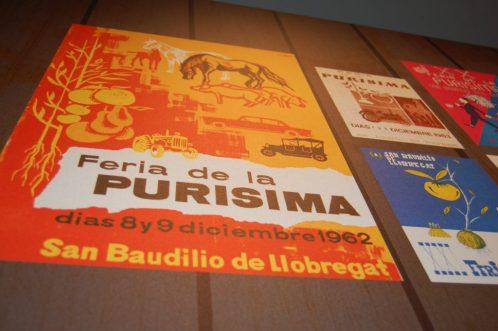 Cartell històric de la Puríssima // Marc Pidelaserra