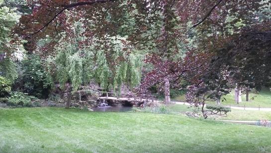Nature verte et bleue - square des Batignolles