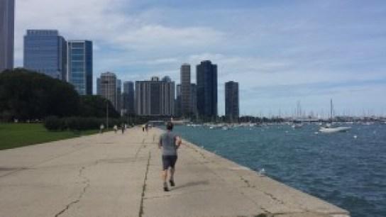 Grant Park, à Chicago, associe aux buildings une nature verte et bleue
