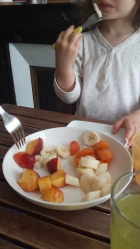 santé environnementale enfants alimentation - repas de fruits