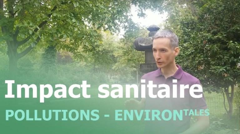 Impact sanitaire pollutions environnementales - vignette