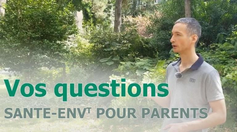 Questions de santé environnementale pour parents - vignette