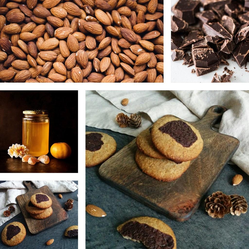 Cookies amande et fleur d'oranger IG bas _ santé et gourmandise