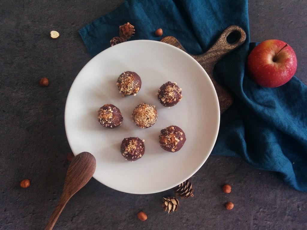 Chocolats façon energy balls _ santé et gourmandise