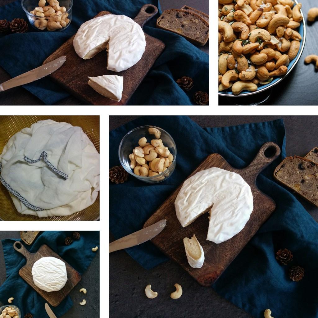 Camembert de cajou fermenté maison _ santé et gourmandise