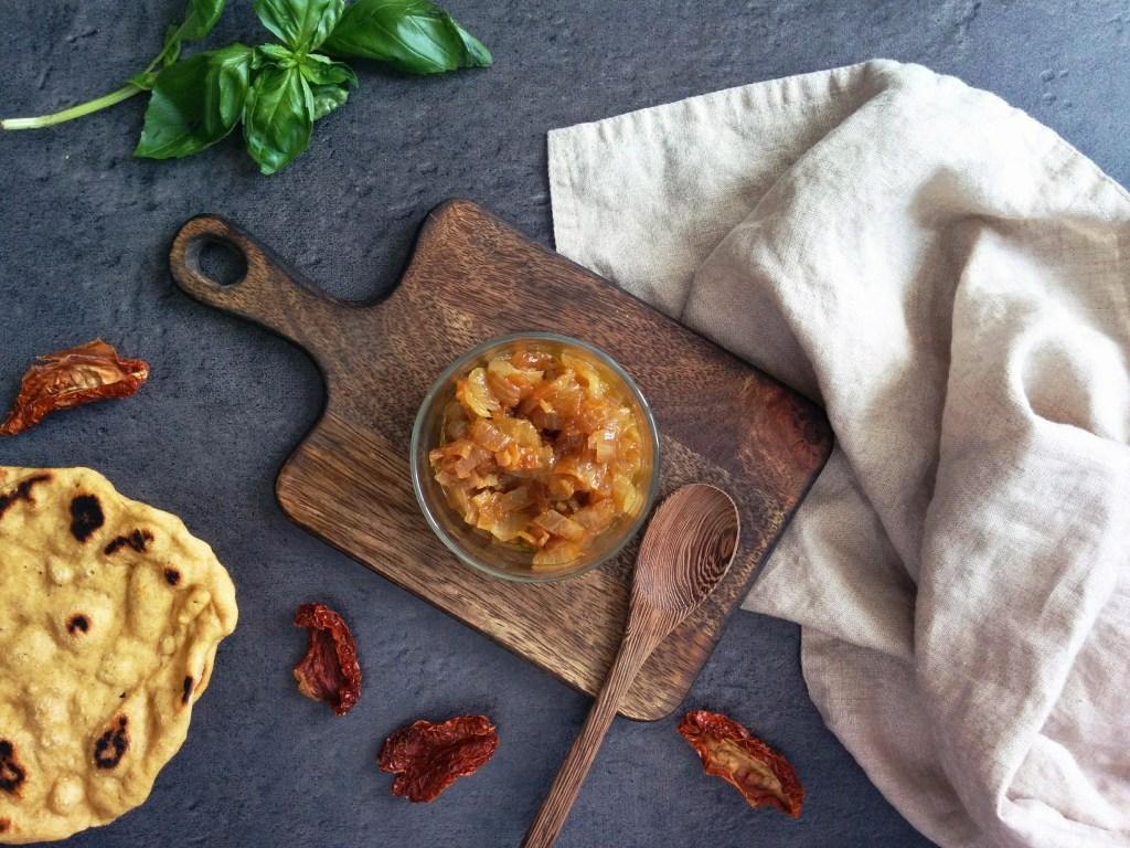 Chutney d'oignons IG bas _ santé et gourmandise