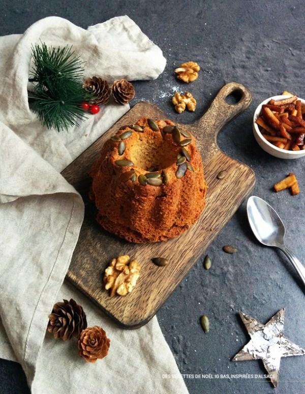 Kougelhopf _ Ebook 30 recettes de Noël à IG bas