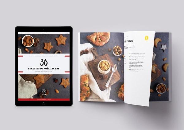 Ebook 30 recettes de Noël à IG bas _ santé et gourmandise