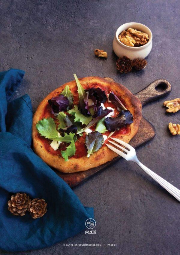 Levain Facile et IG bas _ Pizza _ santé et gourmandise