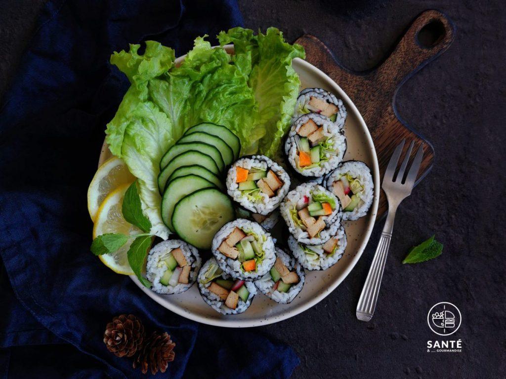 Maki IG bas & végétariens _ santé et gourmandise