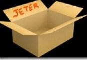 Carton jeter