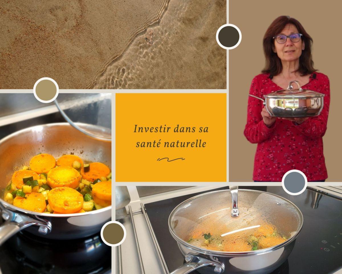 Des ustensiles de cuisine en acier inoxydable 18/10 pour une alimentation saine