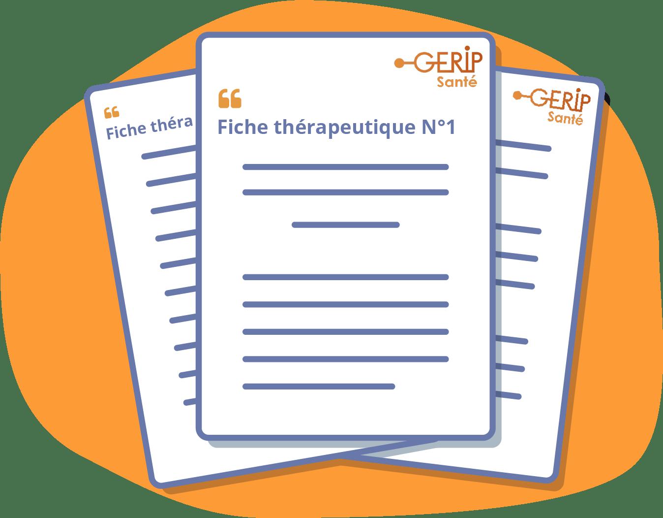 Fiches thérapeutique pour orthophonistes