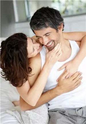 les comprimés ne détériorent pas la vie intime, bien au contraire...