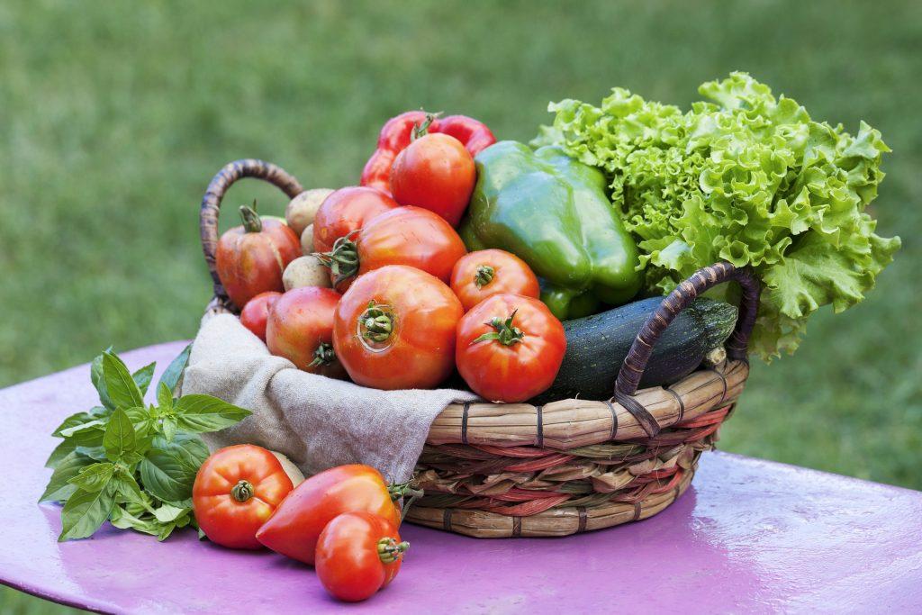 Bien manger fruit et légumes du potager