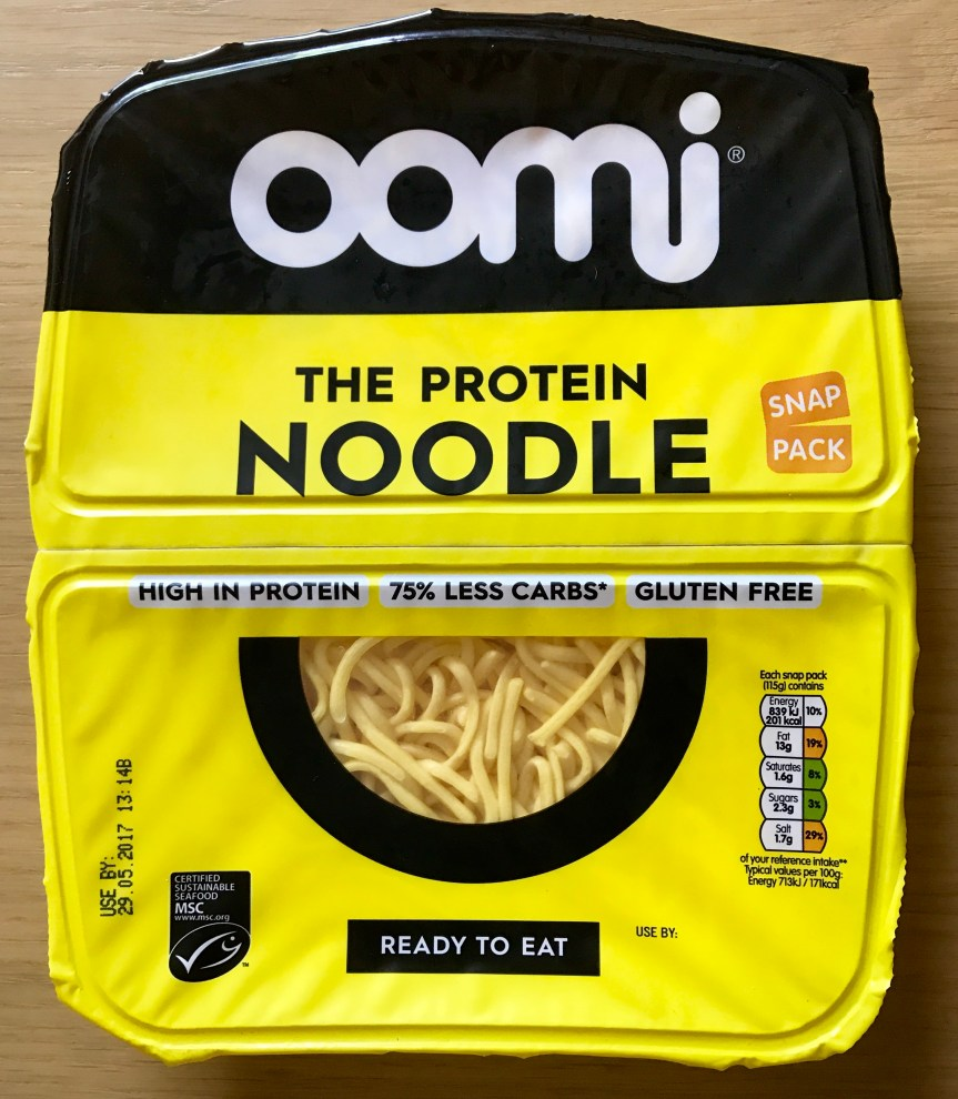 Product Review:Low-Carb Oomi Noodles