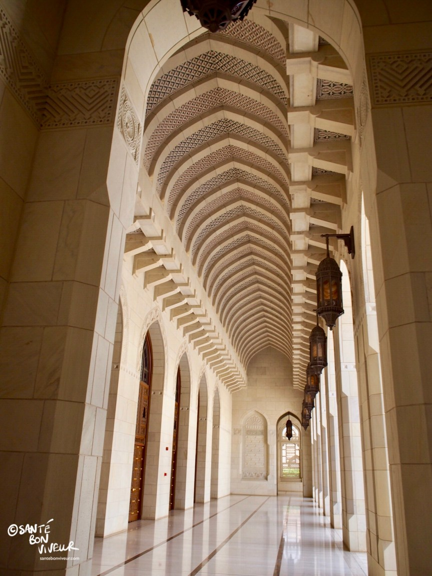 Travel In Pictures: 7 Must-sees in Muscat – 2. The Sultan Qaboos Grand Mosque, Muscat
