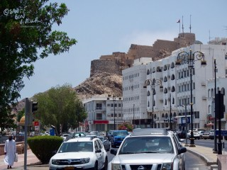 Mutrah Fort viewed from the Corniche