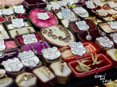 Lots of antique jewellers in The Lanes