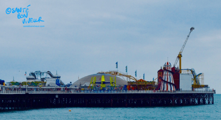 All the fun of the fair at the end of Brighton Pier, but this was once the site of Brighton Palace Theatre