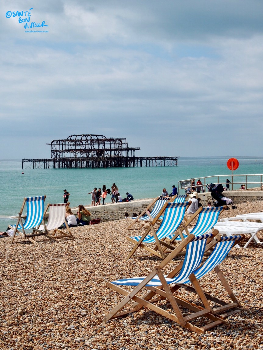 Brighton Beach, West Pier, Deck Chairs, 2017