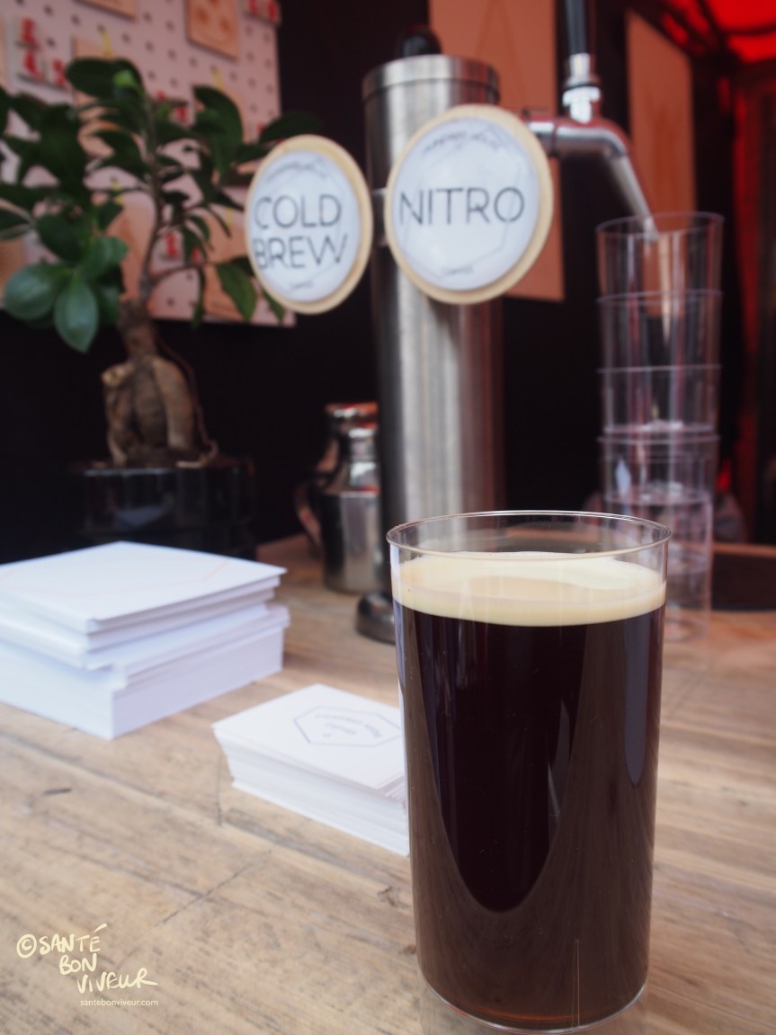 Nitro Coffee, Hundred House Coffee Co, Abergavenny Food Festival, Wales, UK, 2017