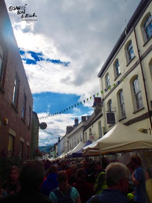 Nevill Street during the festival