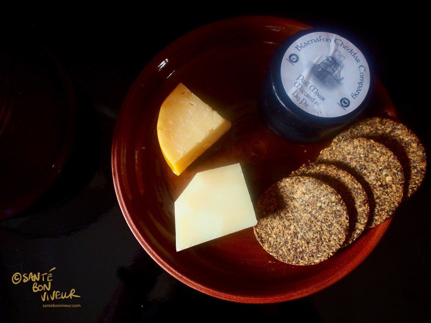 Low-Carb Biscuits & Cheeseboard, Christmas 2017