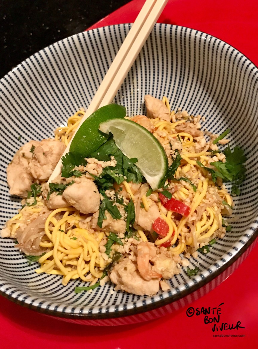 Pad Thai Made with Oomi Protein Noodles, 2017