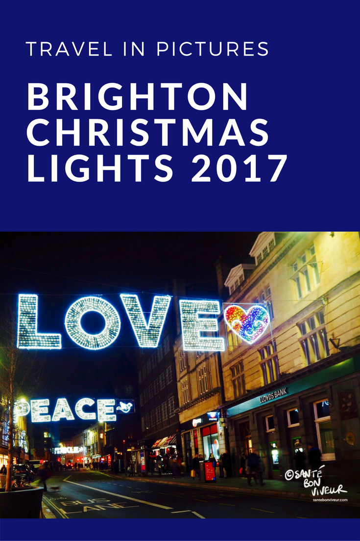 Travel in Pictures Christmas Special: Brighton's Christmas Lights 2017