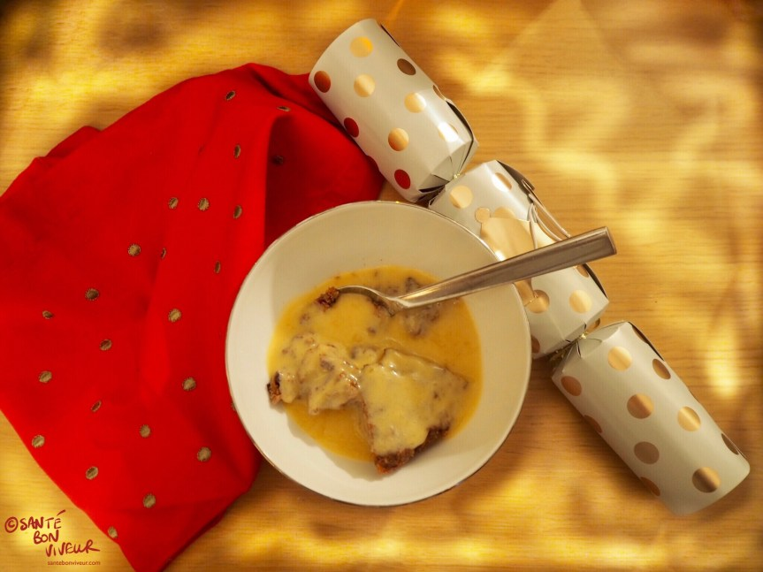 Low-Carb Rum or Brandy Sauce Recipe, With Low-Carb Christmas Pudding, 2017