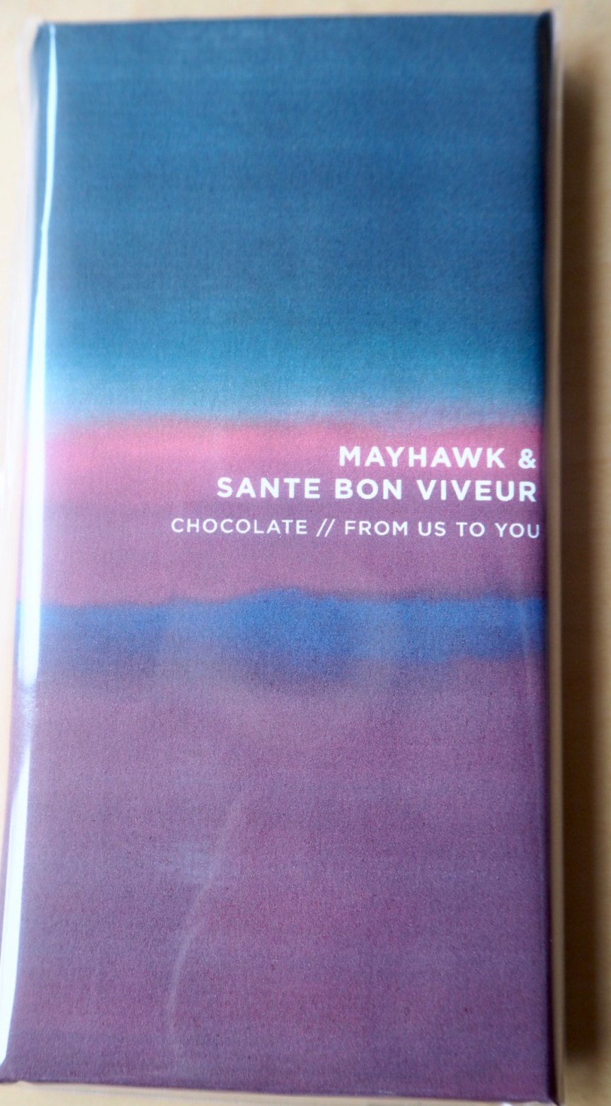 Mayhawk & Santé Bon Viveur Craft Chocolate. Chocolate competition