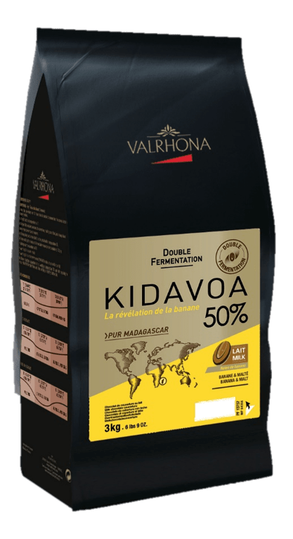 Valrhona Kidavoa 50% couverture made from double fermented