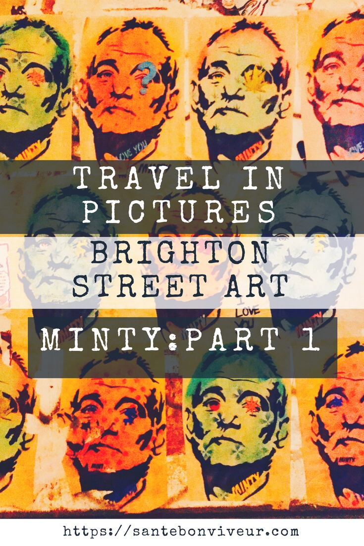 Travel In Pictures: Street Art in Brighton – Minty: Part 1 – Celebrities, Stormtroopers, Elephants & Pigs