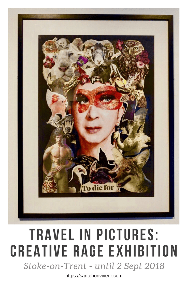 Travel In Pictures: Creative Rage Exhibition, Stoke-on-Trent – until 2 Sept 2018