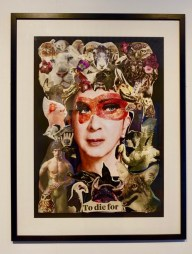 Marc Almond OBE, Collages 2017-18, Creative Rage Exhibition Stoke-on-Trent
