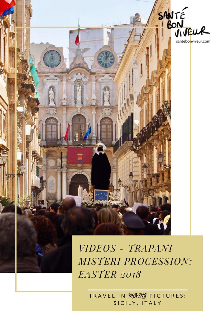 Travel in MOVING Pictures: Videos of The Trapani Misteri Procession 2018 – Sicily, Italy