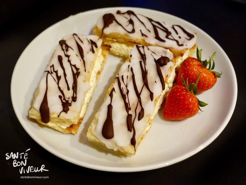 Low-Carb Mille Feuilles