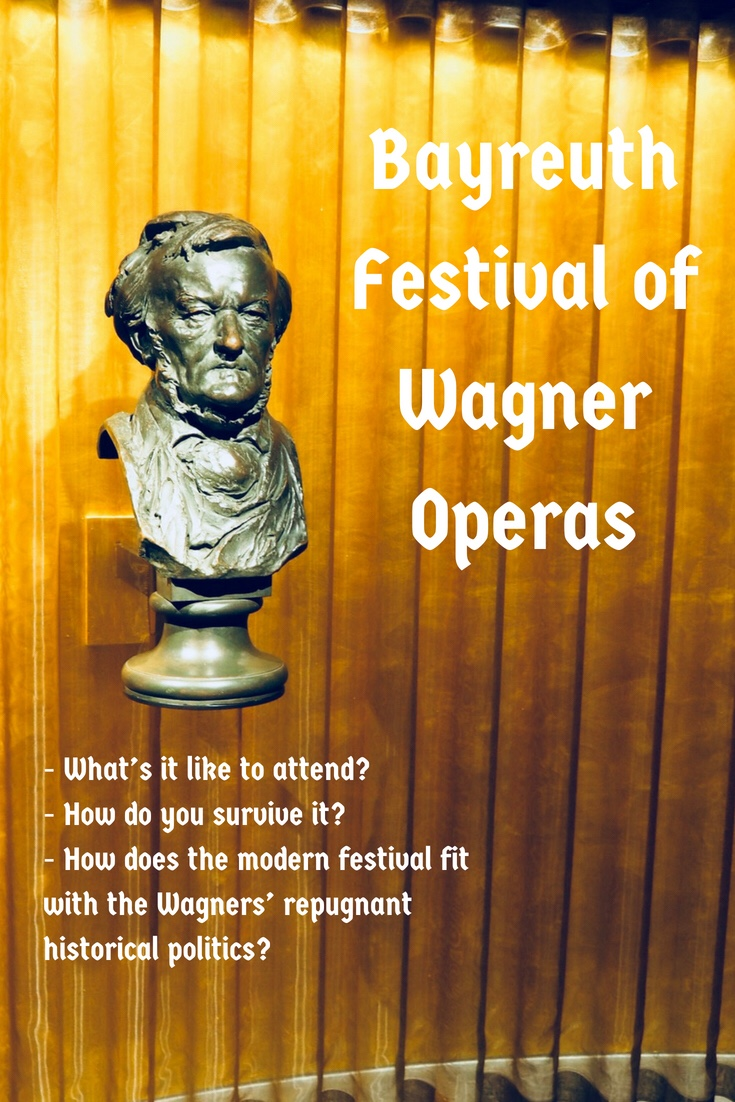 Travel in Pictures: Surviving the Bayreuth Festival of Wagner Operas 2018