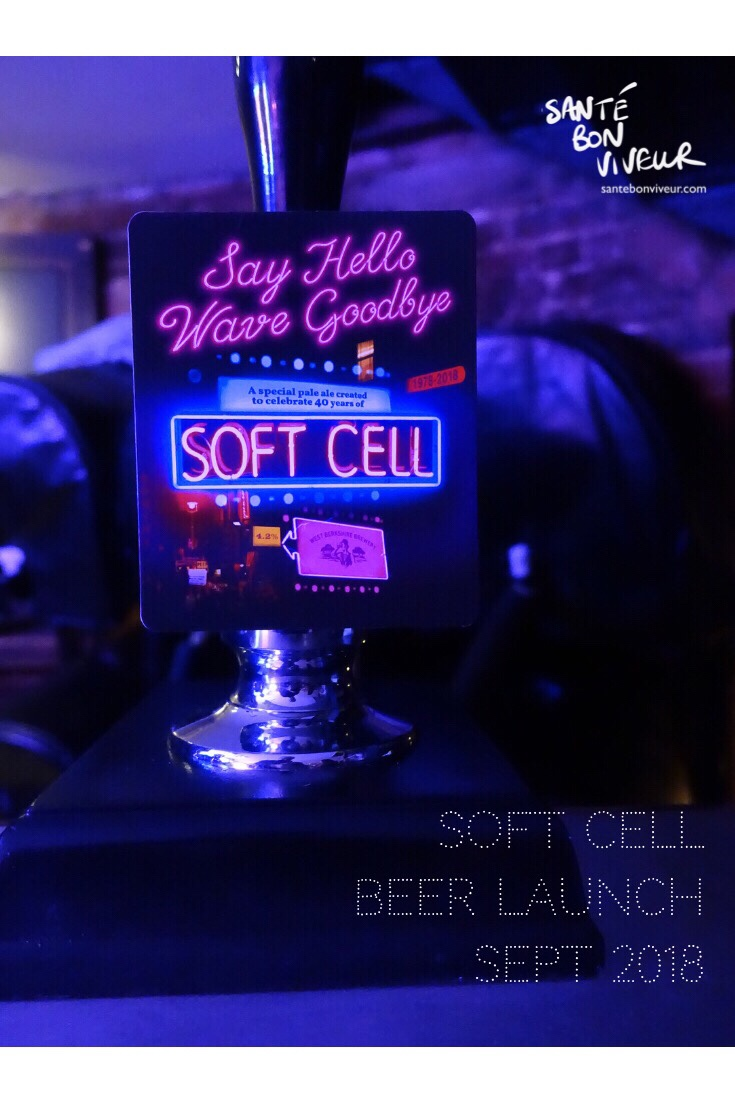Say Hello Wave Goodbye: Attending the Soft Cell Beer (& Box Set) Launch!