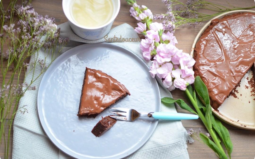 Un fondant au chocolat-patate douce sans gluten ni matière grasse